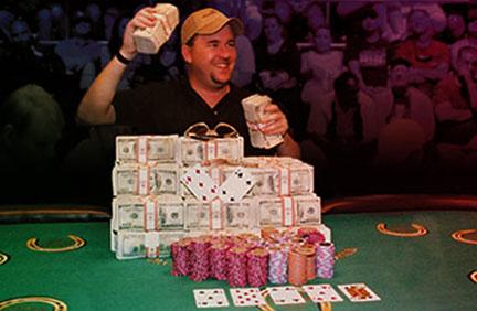 Chris Moneymaker at the 2003 WSOP
