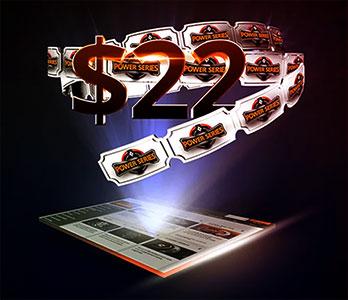 Патипокер бонус 22 доллара