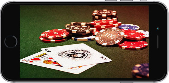 poker on smartphone