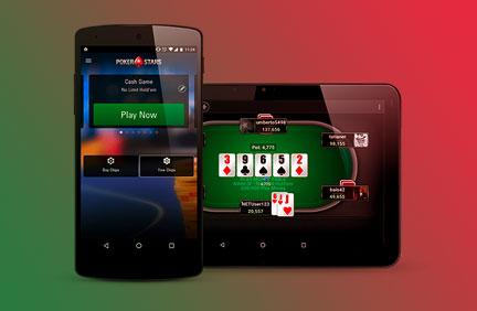 Покерстарс на смартфоне