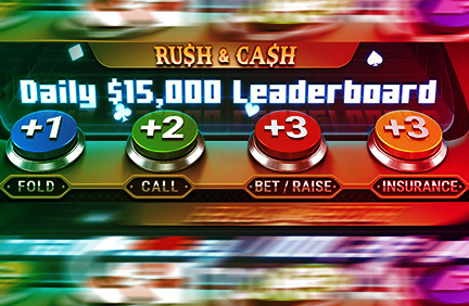 GGPokerOk launched the 15,000th Rush & Cash leaderboard and reduced the rake.